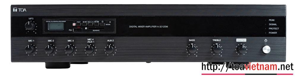 Tăng âm MP3, Bluetooth 240W cho nhà hàng, quán cafe: TOA A-3224DM-AS