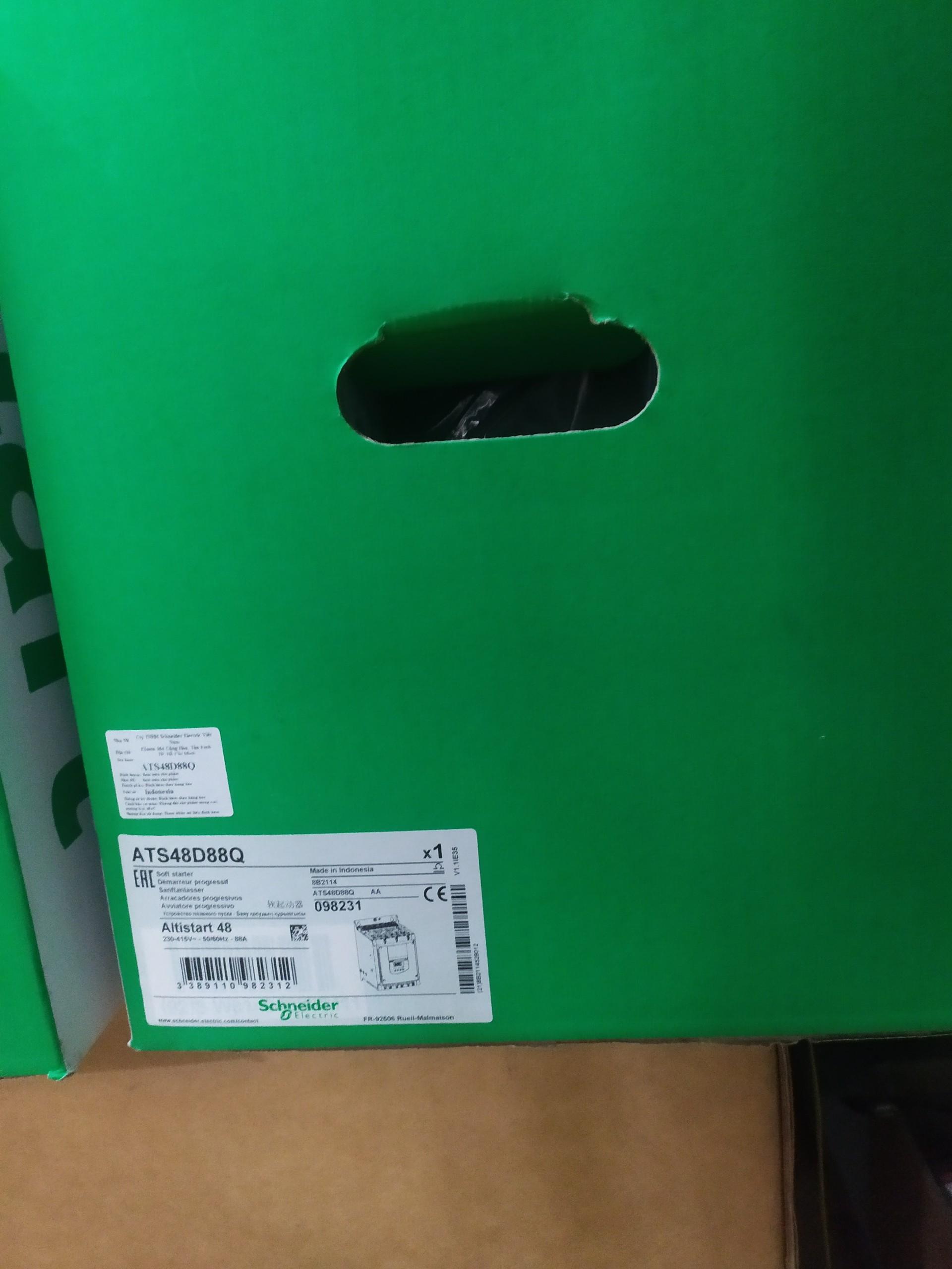 Khởi động mềm ATS48D88Q 45kW 400VAC Schneider