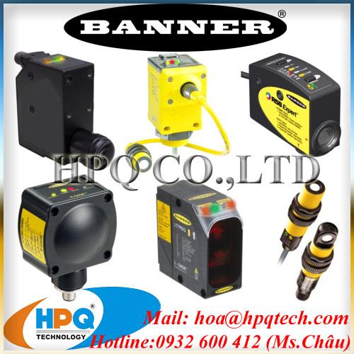 Cảm biến Banner | Nhà phân phối Banner Việt Nam | Ms.Châu 0932600412