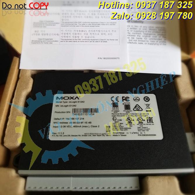 ioLogik E1242 , Bộ điều khiển I/O đa năng , Moxa Vietnam , Converter ,