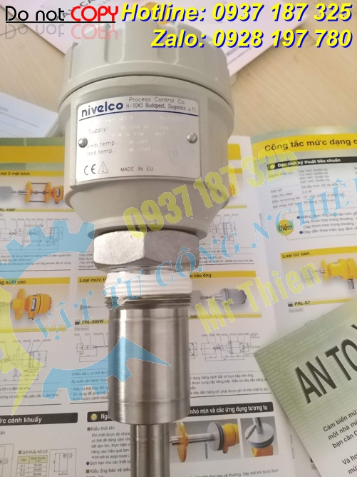 NPK-44-10 , RKH-502-1 , Cảm biến đo mức Nivelco , Nivelco Vietnam ,