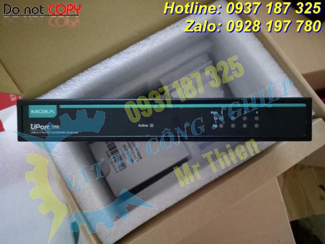 Uport 1450 , Moxa Vietnam , Bộ chuyển đổi USB sang RS232/RS422/RS485 ,