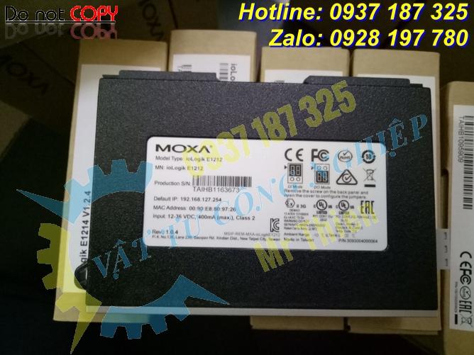 iologik E1212 , Moxa Vietnam , Bộ điều khiển từ xa , Đại lý Moxa ,