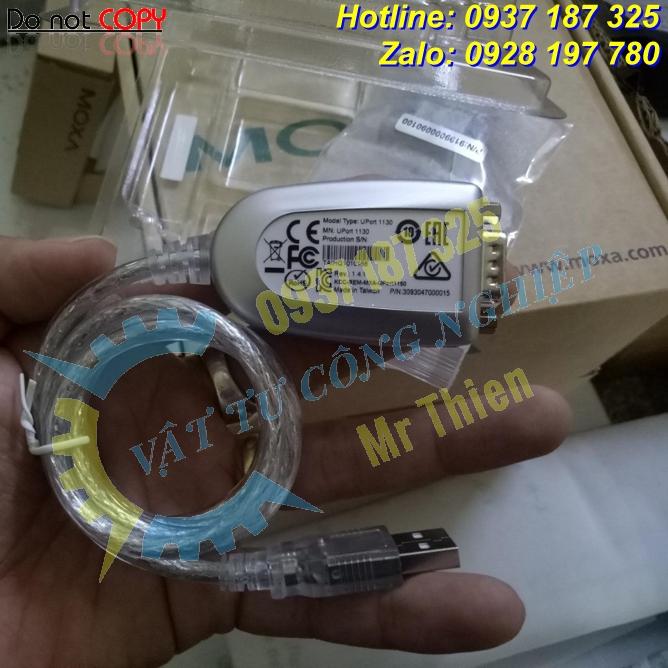 Uport 1130 , Moxa Vietnam, Bộ chuyển đổi USB sang RS422/485 , Moxa ,