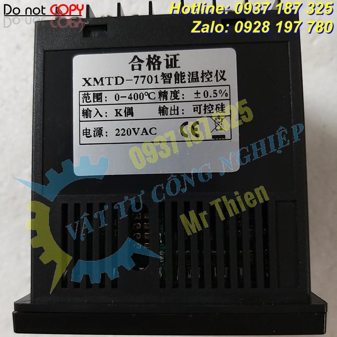 XMTD-7701 , Bộ điều khiển nhiệt độ , Siluosen Vietnam , Controller ,