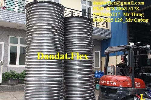 Bù giản nở nhiệt - ống co giản nhiệt inox