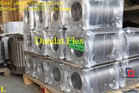 Dandat.Flex chuyên cung cấp Khớp nối mềm inox, khớp giãn nở inox