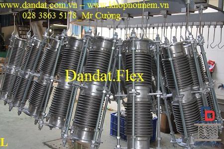 Khớp nối giãn nở mặt bích inox ES-100, ES-200
