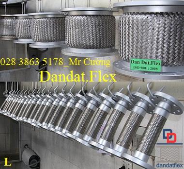 Khớp nối mềm inox 304, khớp nối mềm inox 316, khớp nối mềm inox dn50, dây nối mềm inox, khớp nối chống rung