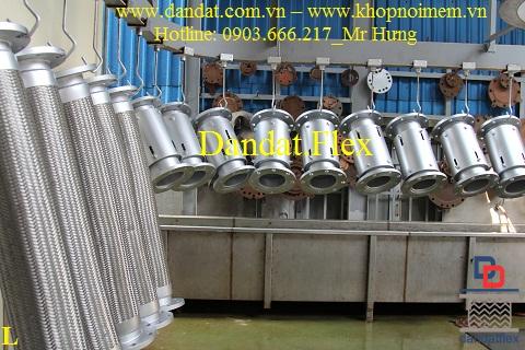 Khớp nối mềm inox chính hãng sản xuất tại Việt Nam