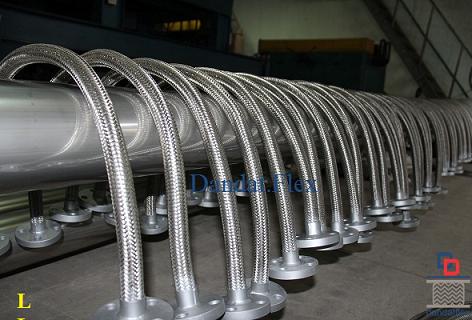 Khớp nối mềm inox (mặt bích, rắc co, rencon) dùng cho nhà máy luyện thép