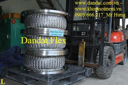 Khớp nối mềm - ống mềm inox dùng trong lò than khí