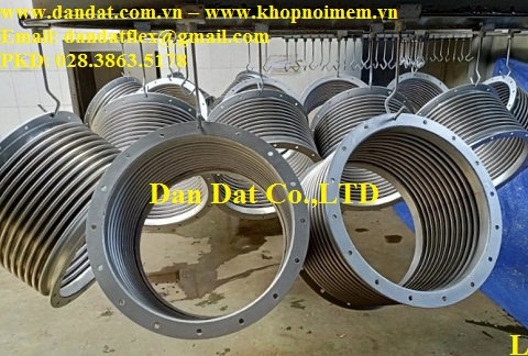 Khớp nối mềm giảm chấn cho ống khói máy phát điện công nghiệp