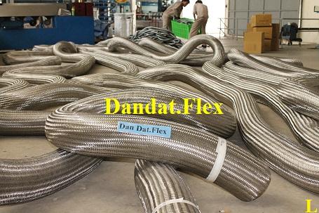 Lưới bện inox 304 - Ống nối mềm inox - Ống lưới inox chịu nhiệt