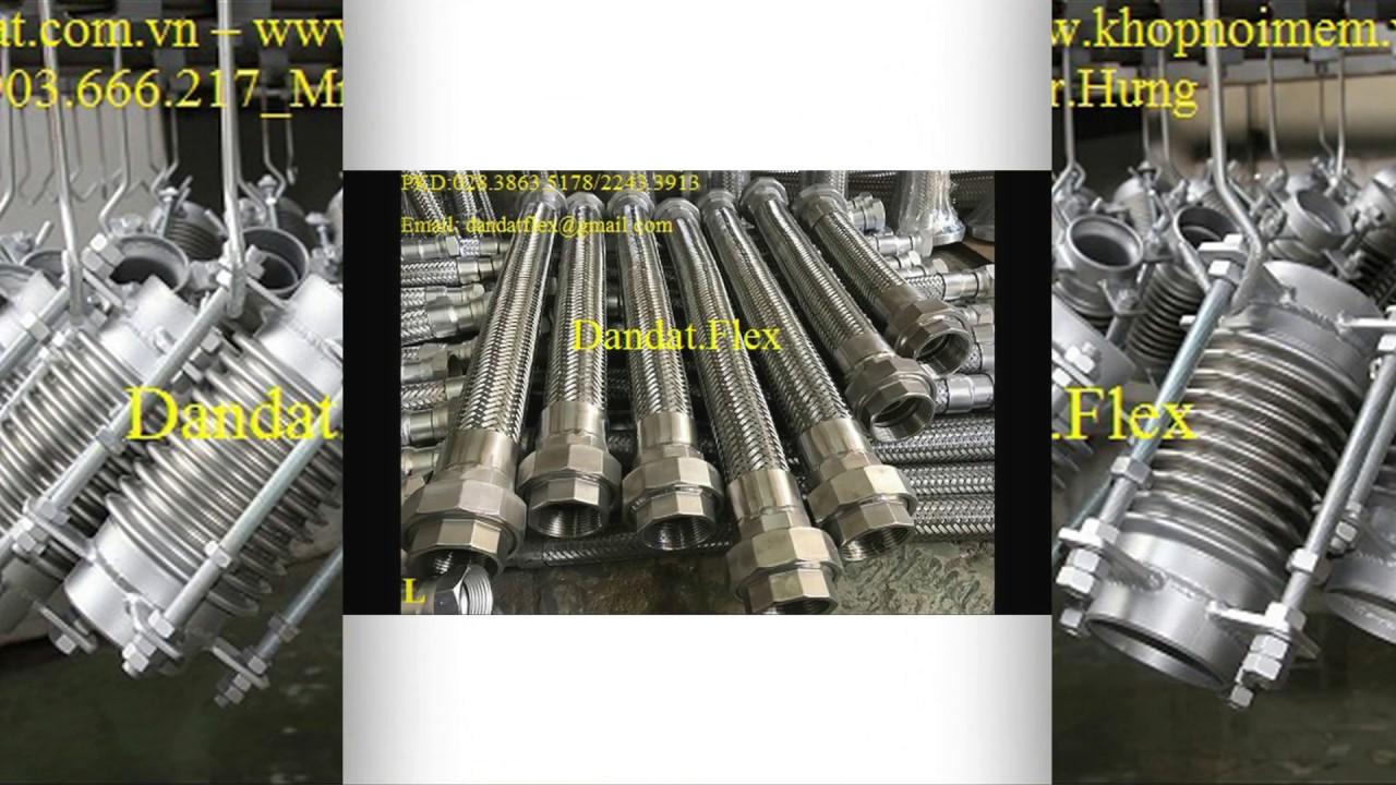 Ống chống rung - Ống nối kim loại
