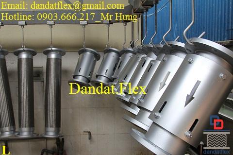 Ống dầu thủy lực, khớp nối mềm thủy lực, ống mềm inox