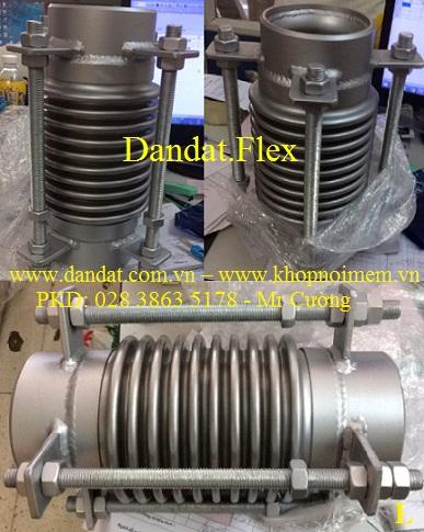 ống giãn nở nhiệt, khớp giãn nở inox (ES-100, 2 đầu chờ inox 304)