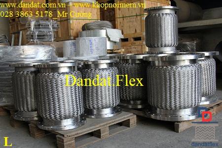 Ống mềm bọc lưới inox, ống nối mềm inox, ống giảm rung