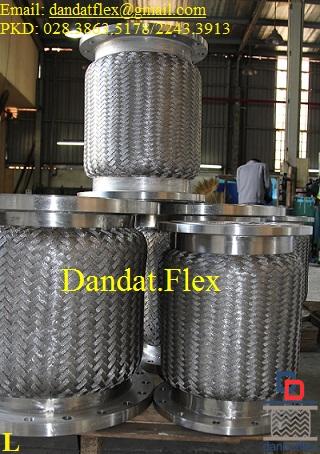 Ống mềm (ống chống rung) dn250, khớp nối mềm 2 LL inox 304