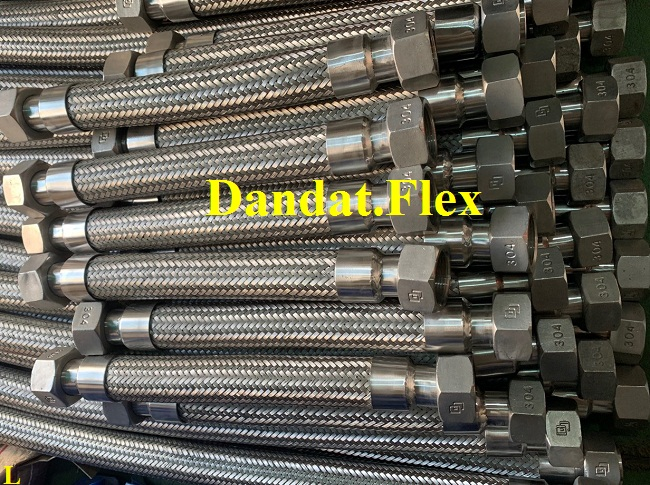 Ống nối mềm bằng inox, ống nối mềm inox 304