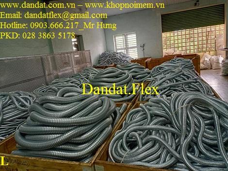 Ống ruột gà chịu nhiệt - Ống ruột gà inox 304