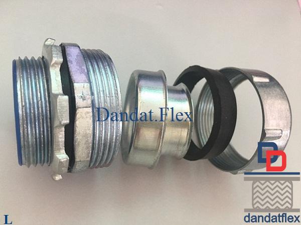 Phụ kiện đầu nối ống luồn dây điện, ống ruột gà lõi thép