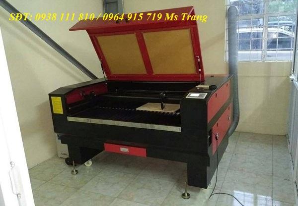 Máy laser cắt khắc gỗ , máy cắt khắc laser 1610 – 2 đầu