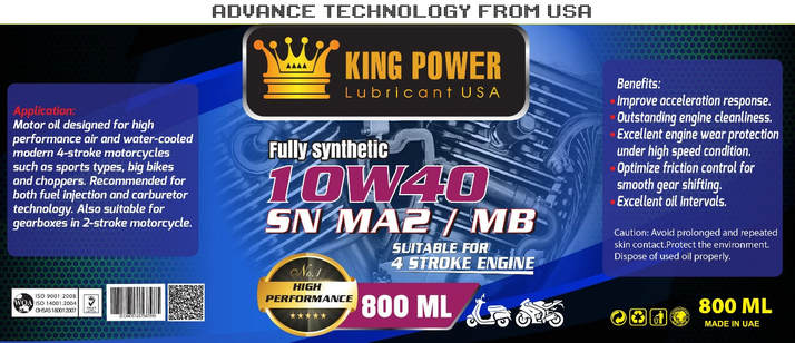 Công ty TNHH Dầu Nhớt Nhập Khẩu King Power