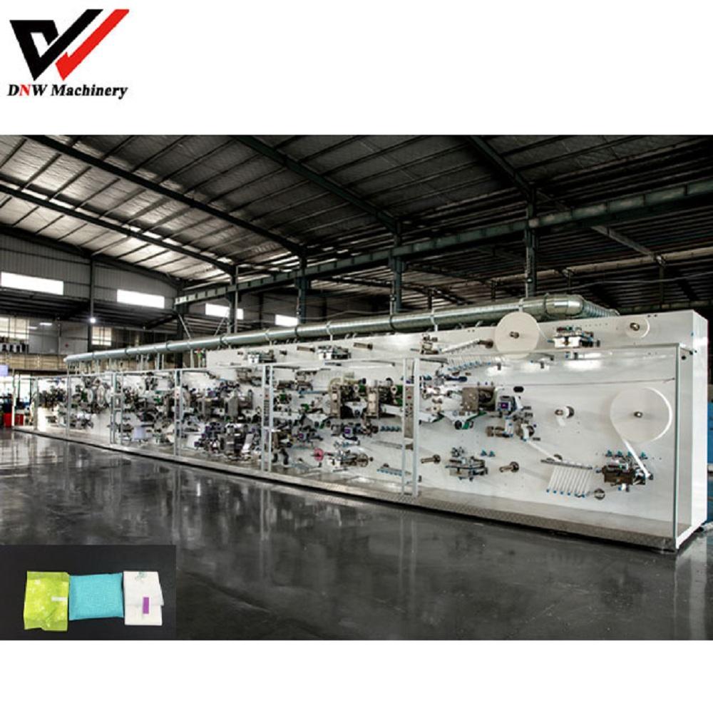 Công ty TNHH nhà sản xuất dây chuyền sản xuất tã giấy DNW