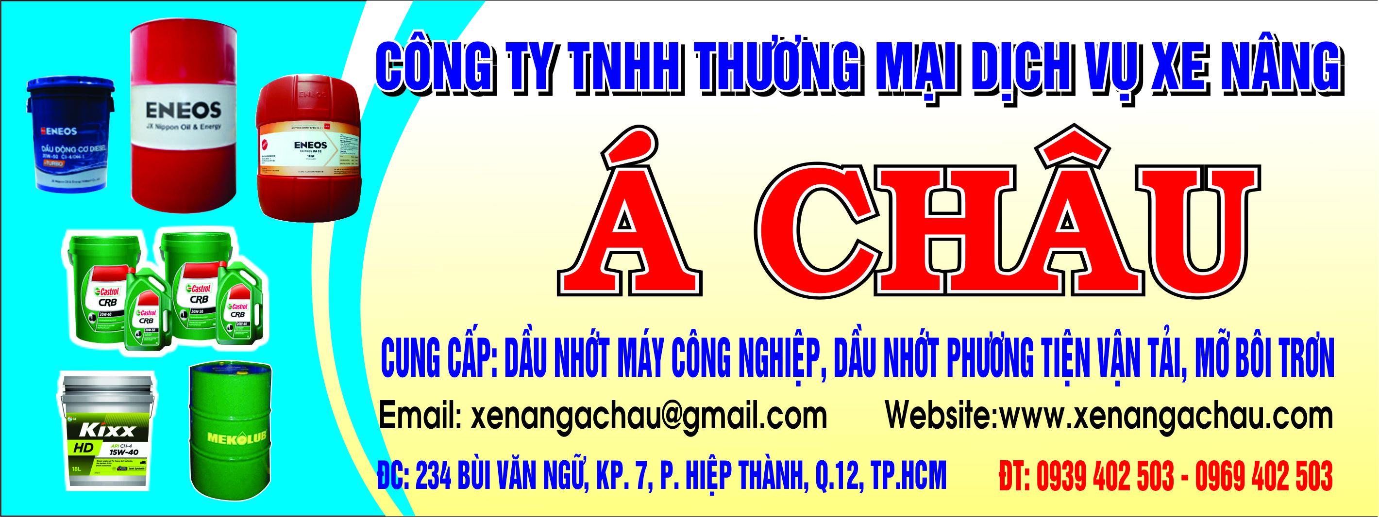 Công Ty TNHH TM DV Xe Nâng Á Châu