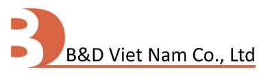 CÔNG TY TNHH B&D VIỆT NAM