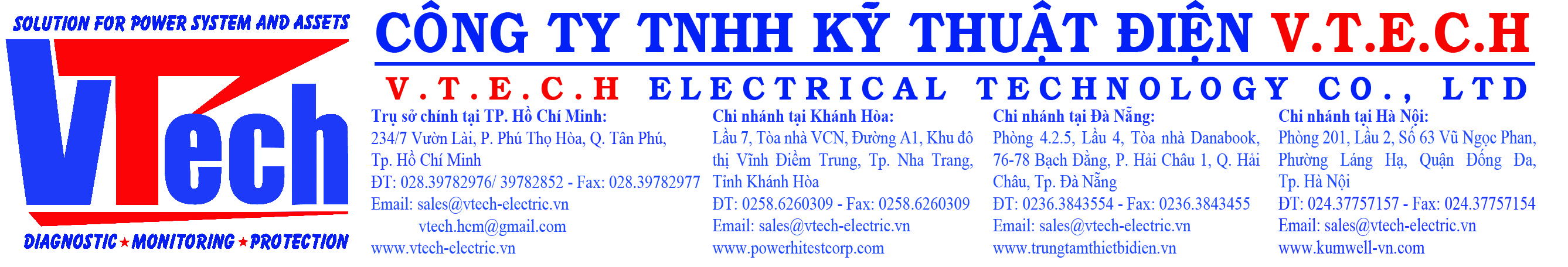Công ty TNHH kỹ thuật điện V.T.E.C.H.